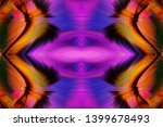 abstract art screensaver.... | Shutterstock . vector #1399678493