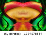 abstract art screensaver.... | Shutterstock . vector #1399678559