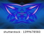 abstract art screensaver.... | Shutterstock . vector #1399678583
