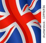 flag of the united kingdom   Shutterstock .eps vector #13996936