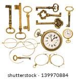 Vintage Accessories. Set Of...