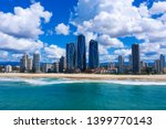 sunny view of broadbeach on the ... | Shutterstock . vector #1399770143