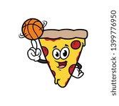 Cartoon Pizza Character...