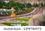 well built seaside walk in... | Shutterstock . vector #1399780973