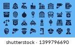 criminal icon set. 32 filled...   Shutterstock .eps vector #1399796690
