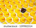 Gum Ducks Yellow And One Black