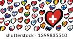song festival euro songfestival ... | Shutterstock .eps vector #1399835510