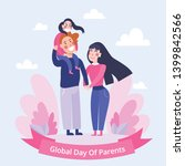 global day of parents  happy... | Shutterstock .eps vector #1399842566