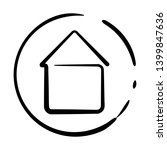 home icon in the circle for...