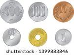 japanese yen vector... | Shutterstock .eps vector #1399883846