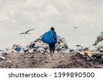 Trash Keeper On Landfill....