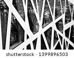 abstract image of looking up at ... | Shutterstock . vector #1399896503