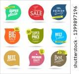 sale banner templates design... | Shutterstock . vector #1399897196