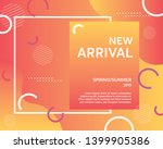 unique artistic summer cards... | Shutterstock .eps vector #1399905386