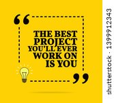 inspirational motivational... | Shutterstock . vector #1399912343