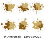vector collection of artistic... | Shutterstock .eps vector #1399939223