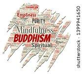 vector conceptual buddhism ... | Shutterstock .eps vector #1399941650