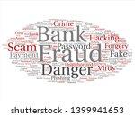vector conceptual bank fraud... | Shutterstock .eps vector #1399941653