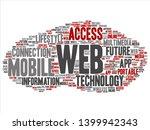 vector concept or conceptual... | Shutterstock .eps vector #1399942343