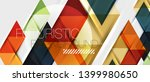 abstract geometric background.... | Shutterstock .eps vector #1399980650
