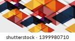 abstract geometric background.... | Shutterstock .eps vector #1399980710