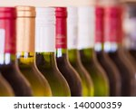 bottles of wine | Shutterstock . vector #140000359