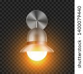 shining modern sconce element...   Shutterstock .eps vector #1400079440