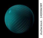 3d render metall background....   Shutterstock . vector #1400086589