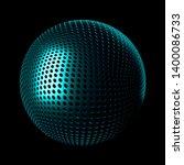 3d render metall background....   Shutterstock . vector #1400086733