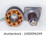 stepper motor  disassembled ...   Shutterstock . vector #1400096249