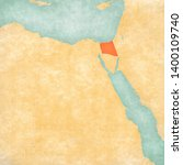 north sinai governorate on the... | Shutterstock . vector #1400109740