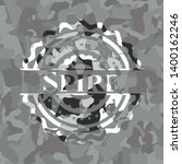 spire on grey camouflage texture | Shutterstock .eps vector #1400162246