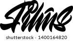 films hand drawn vector... | Shutterstock .eps vector #1400164820