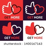 vector creative pattern with... | Shutterstock .eps vector #1400167163