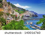 travel in italy series   view... | Shutterstock . vector #140016760