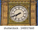The Famous Clock Face Of Big...