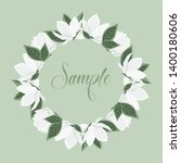 vector illustration white... | Shutterstock .eps vector #1400180606