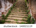 An Ancient Roman Staircase...