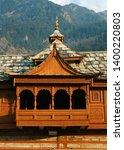 shri bhima kali temple is a...   Shutterstock . vector #1400220803