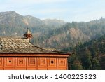 shri bhima kali temple is a...   Shutterstock . vector #1400223323