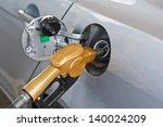 refueling vehicles in petrol... | Shutterstock . vector #140024209