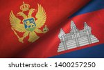 montenegro and cambodia two...   Shutterstock . vector #1400257250