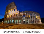 coliseum just before the... | Shutterstock . vector #1400259500