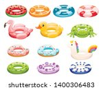 Swim Rings Set. Inflatable...