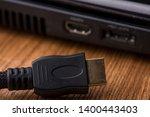 Hdmi cable close up. hdmi...