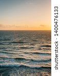 waves in the pacific ocean at... | Shutterstock . vector #1400476133