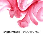 abstract pink watercolor on... | Shutterstock . vector #1400492753