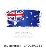 flag of australia. vector... | Shutterstock .eps vector #1400591363