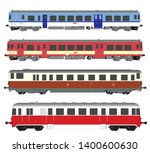 vector high speed train and... | Shutterstock .eps vector #1400600630