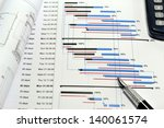 construction project planning   ... | Shutterstock . vector #140061574